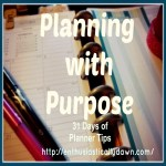 Planning With Purpose