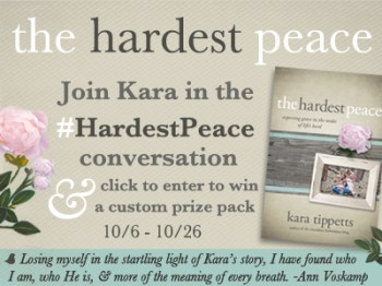 The Hardest Peace Giveaway