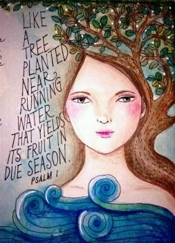 Psalm 1 Artwork