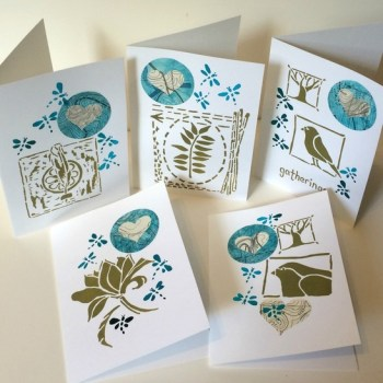 Stencil Cards - Mary C Nasser