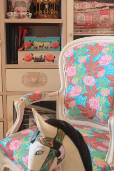 Painted Chair - Wooden Horse