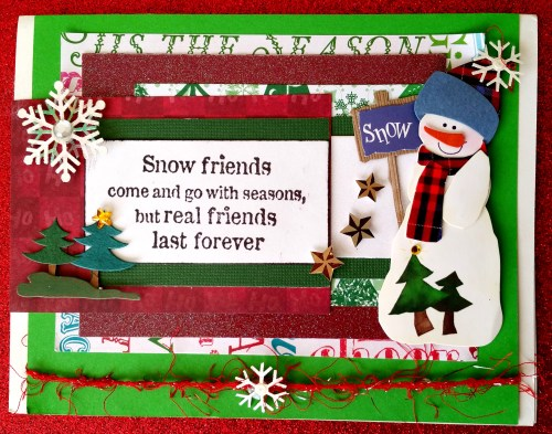 Real Friends Last Forever Card - 2
