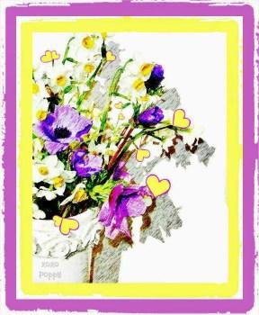 Floral Pencil Sketch