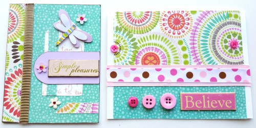2-Handmade-Cards-by-Create-With-Joy.Com-Featuring-SEI-Happy-Day-Paper