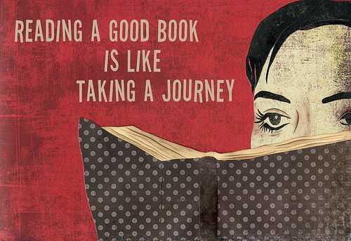 Books-Journey Quote