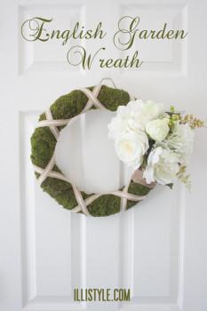 English Garden Wreath