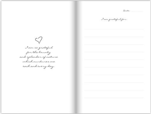 Grace Of Gratitude Journal - Sample Page 3