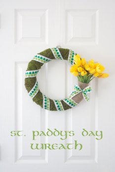 St Paddy's Day Wreath