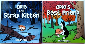 2 Odie The Kitten Books