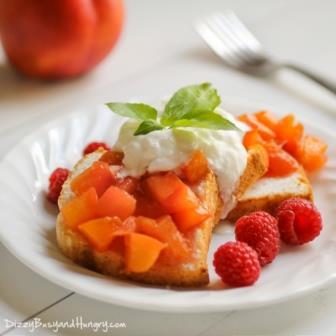 Nectarine Compote Dessert