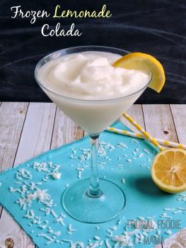 Frozen Lemon Colada