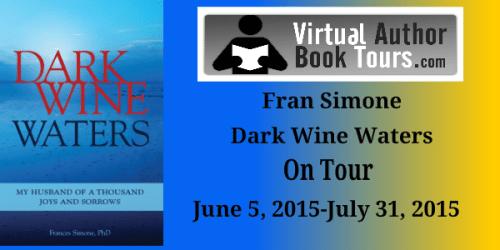 Dark Wine Waters - Blog Tour Banner