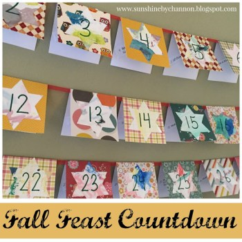 Fall Feast Countdown