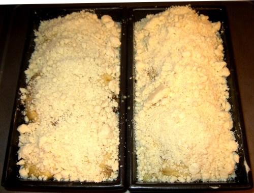 Stresuel Topping On Pumpkin Babka - With Struesel Pre-Cooked