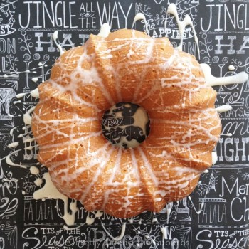 Egg Nog Bundt Cake