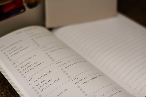 The Book Bloggers Planner - Interior