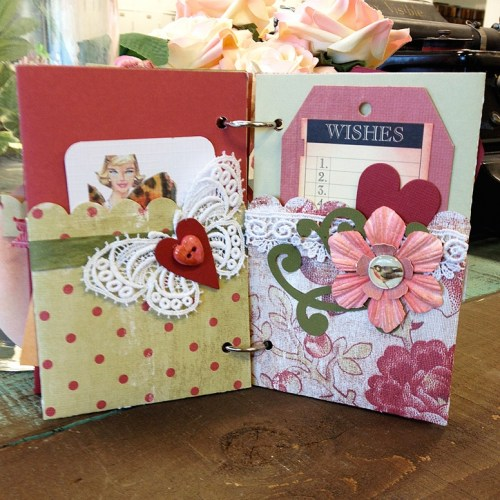 Valentine Pocket Page Book