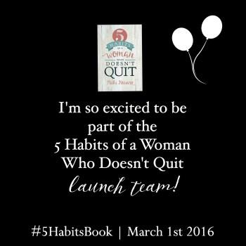 5 Habits Launch Team Badge
