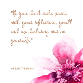 Beauty Begins Quote 1
