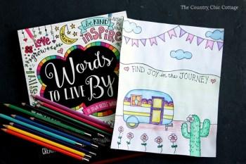 Watercolor pencil tutorial