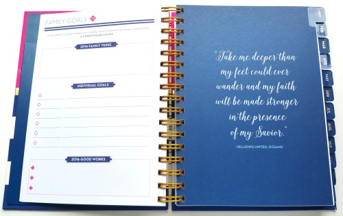 Anchored Press Planners Goals And Quotes - Flipped