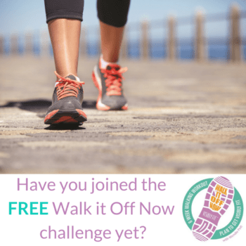 Have You Joined The Walk It Off Now Challenge?