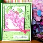 Better Get Better Card - Create With Joy