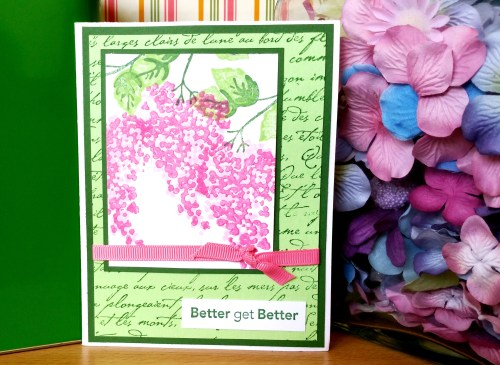 Better Get Better Card - Create With Joy