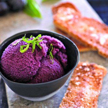 Black Grape Sorbet
