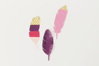 diy-washi-feathers