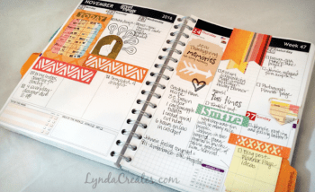 sizzix-planner-pages