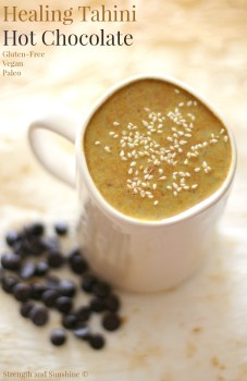 Healing Tahini Hot Chocolate
