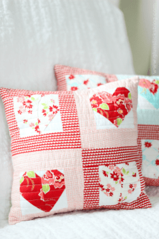 Quilted Sweetheart Pillow