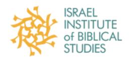 Israel Institute Of Biblical Studies Logo