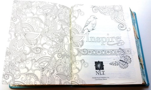Inspire Bible - Cover Page L