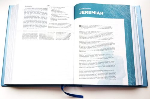 Apologetics Study Bible For Students - Sample Page 1