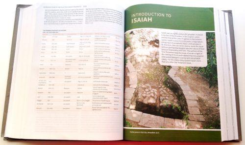 CSB Study Bible - Interior 1