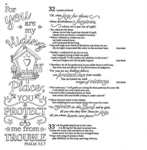 Inspire Psalms - Sample 1