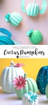 Cactus Pumpkins