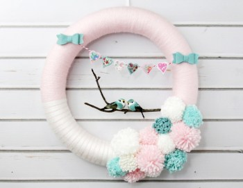 Lovebirds-Wreath