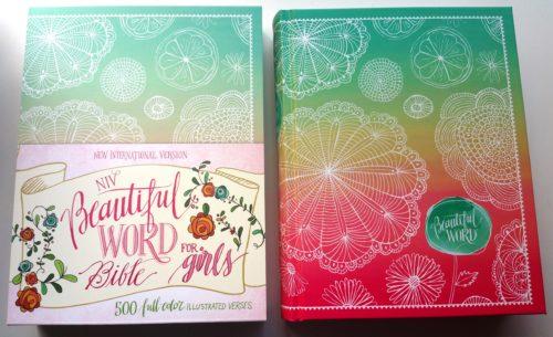 NIV Beautiful Word Bible For Girls Bible