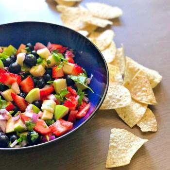Fruit and Salsa Salad