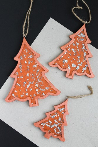 Copper Christmas Ornaments