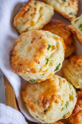 Green Onion and Cheddar Biscuits