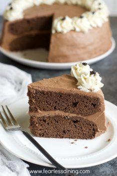 Gluten Free Mocha Cake