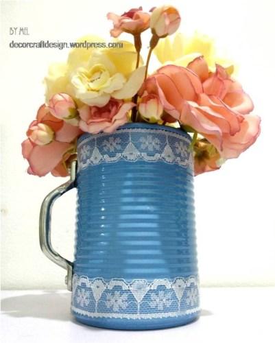Spring Flowers In A Mug