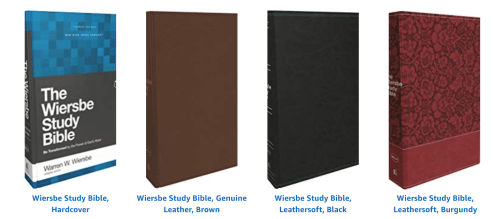 Wiersbe Study Bible Options