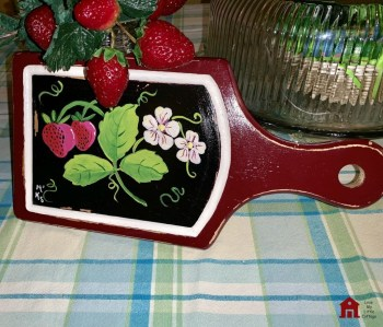 Handpainted Cutting Board