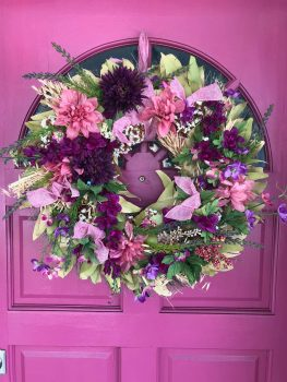 Upcycled Wreath