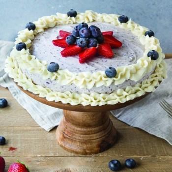 Blueberry-Ice-Cream-Cake-Recipe
